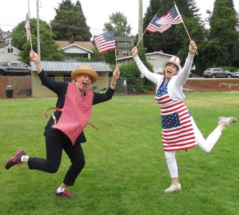 COURTESY PHOTO - Back for the 70th time, the Lake Oswego Lions Club will be serving its pancake breakfast on July 4 at George Rogers Park from 7 a.m. to noon.