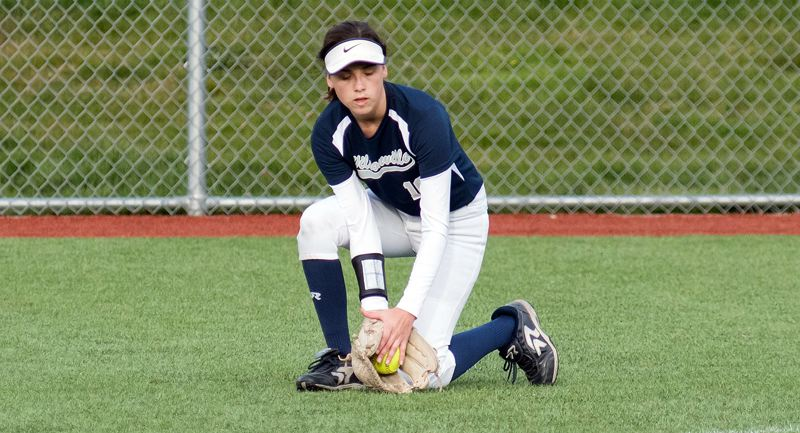 PMG PHOTO: TANNER RUSS - Wilsonville's Carly Atwood capped her award-winning Wildcat career by being named to the Class 5A all-state second team for 2019.