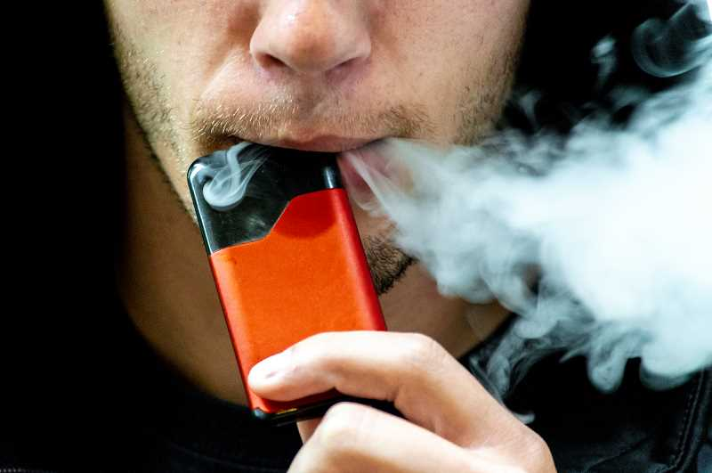 PMG PHOTO: CLARA HOWELL  - Oregon schools are battling a growing trend of teens vaping on campuses.