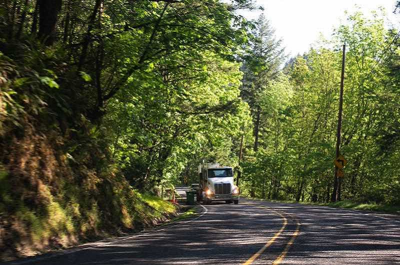 PMG FILE PHOTO - Multnomah County on Friday, June 28, announced it was pushing back the start of safety improvement construction on Cornelius Pass Road to July 15 or later. The road will be closed into September to facilitate construction.