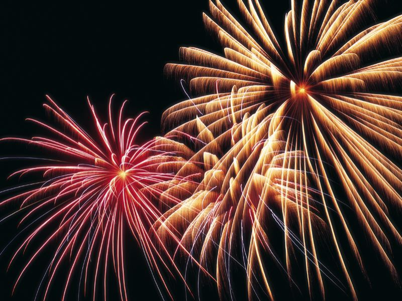 Check out Happy Valley's annual fireworks display.