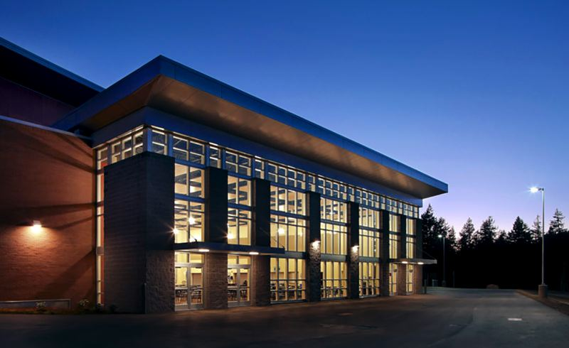 COURTESY PHOTO - Pence Construction, chosen to build the new Gardiner Middle School in Oregon City, built Straub Middle School in the Salem-Keizer District in 2011.