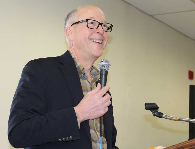 HOLLY M. GILL/MADRAS PIONEER - U.S. Rep. Greg Walden will return to Jefferson County July 3, for a town hall meeting in Culver, at 11 a.m. at the Culver Fire Station.