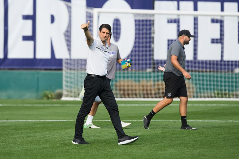 COURTESY PHOTO: UNIVERSITY OF PORTLAND - Coach Nick Carlin-Voigt sticking with the Pilots is a big win for Portland.