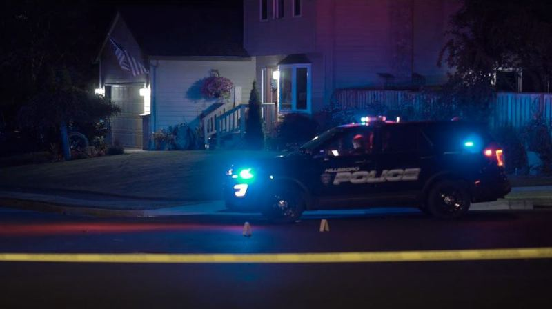 KOIN 6 NEWS - A scene of the house where the shooting took place.