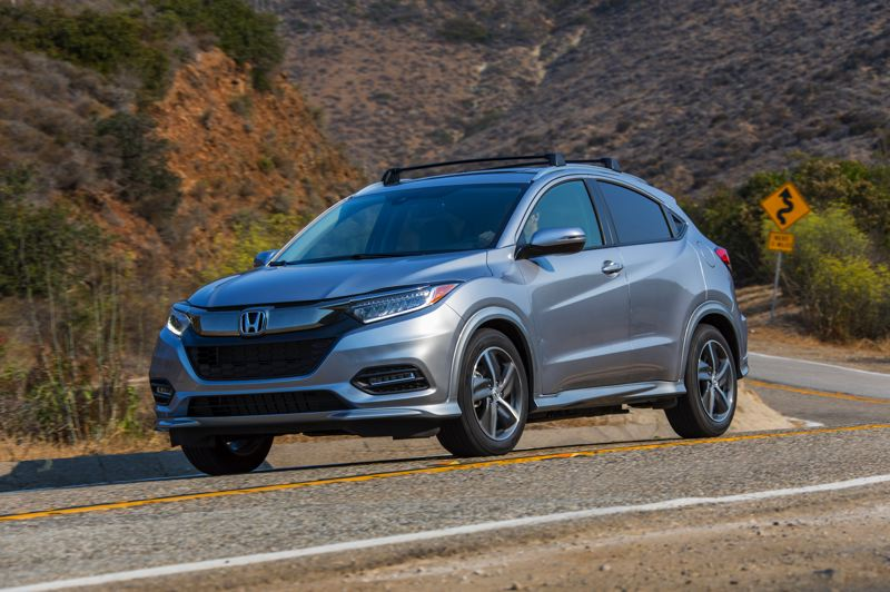 HONDA NORTH AMERICA - The exterior styling of the Honda HR-V has been updated for 2019 toi help keep it competitive in the hot subcompact crossover market it helped create just a few years ago.