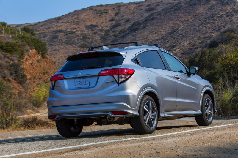 HONDA NORTH AMERICA - The 2019 Honda HR-V looks good coming and going.