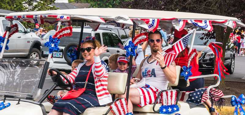COURTESY OF KING CITY COMMUNITY FOUNDATION - Jaimie Fender, president and founder of the King City Community Foundation, is heavily involved in the annual King City Fourth of July bash.