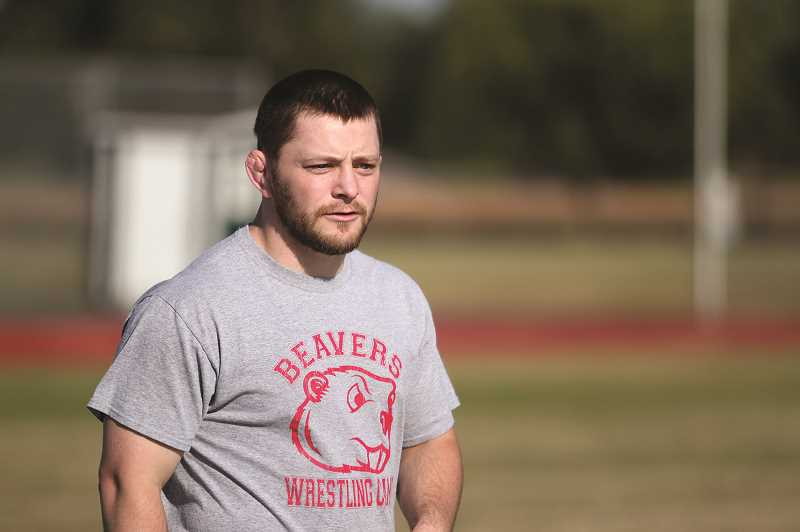 PMG PHOTO: PHIL HAWKINS - New North Marion wrestling head coach Shane Sheppard competed at Stayton High School and went on to wrestler at Clackamas Community College and Minot State University.