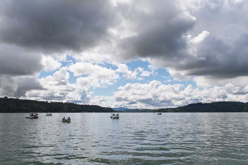PMG PHOTO - Live at Hagg Lake is the first event of its kind, allowing Scoggins Valley Park visitors to stop in for the evening and enjoy free music, food and fun.