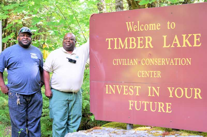 PMG PHOTO: EMILY LINDSTRAND - Ben and Colmon Fuller have spent decades working at Timber Lake Job Corps in the Mt. Hood National Forest. Both Ben and Colmon, along with three of their brothers, are graduates of Job Corps.