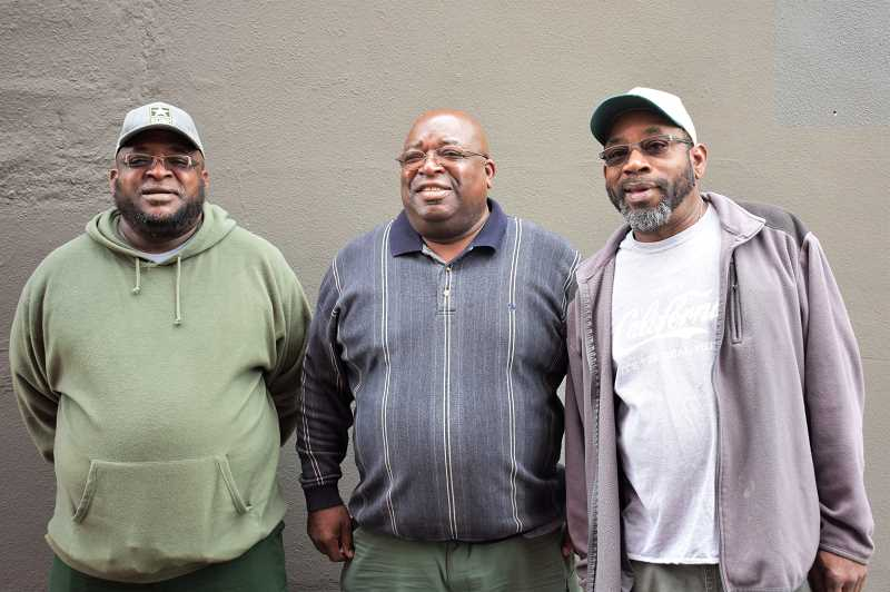 PMG PHOTO: EMILY LINDSTRAND - Ben, Colmon and Carl Fuller were inspired to leave their hometown in Mississippi to attend Job Corps programs in Oregon after they saw the success their older brothers Henry and Lee found while there.