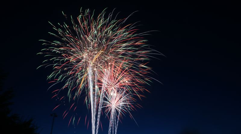 COURTESY PHOTO: FLICKR/PAULO O. - Clackamas County Bank has sponsored the Fourth of July fireworks show in Sandy for more years than many can remember.