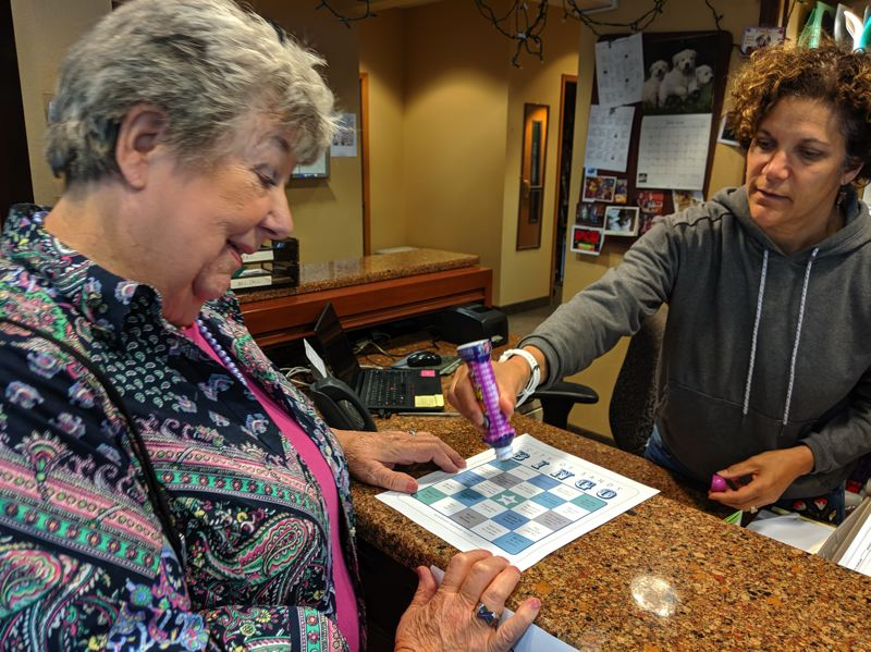 PMG PHOTO: BRITTANY ALLEN - City-wide bingo game to kick off for all ages on July 10.