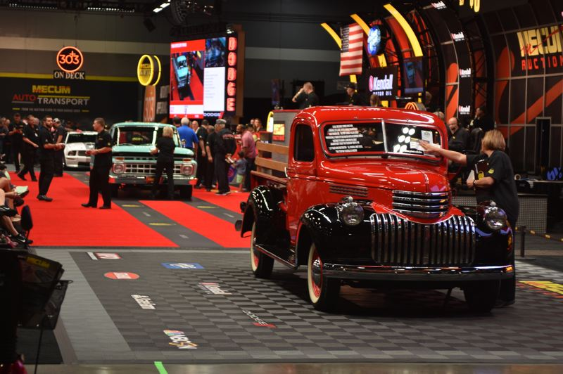 PMG PHOTO: VANCE TONG - The action was fast and furious at Mecum Portland 2019 on June 21 and 22 at the Portland Expo Center.