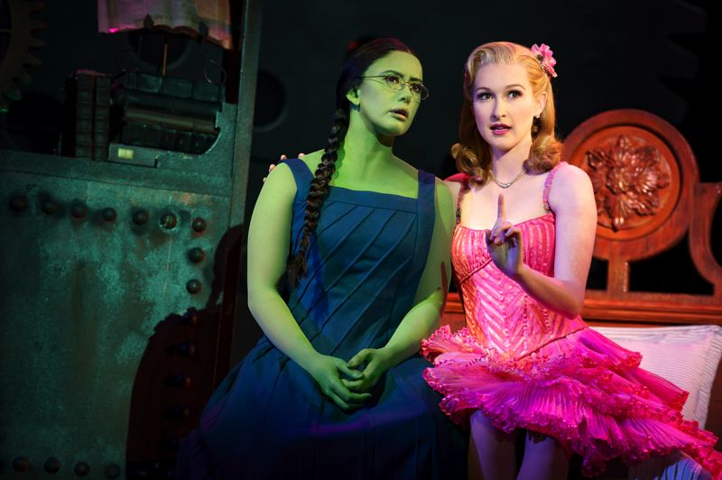 COURTESY: JOAN MARCUS - 'Wicked' stages in Portland, starting July 10.
