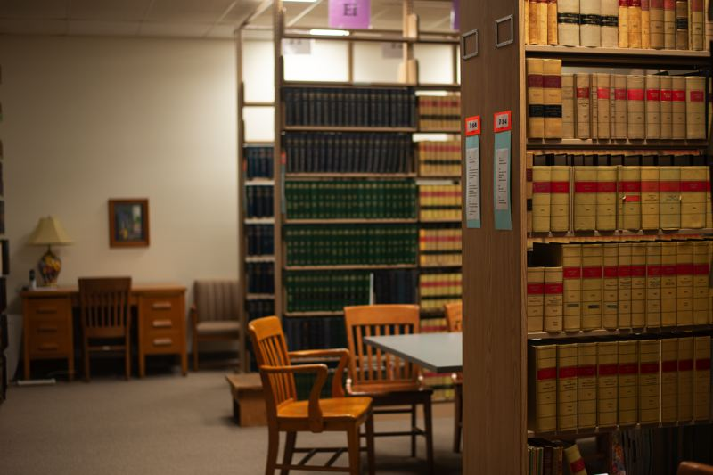 PMG PHOTO: ANNA DEL SAVIO - The Columbia County Law Library is stocked with the books and resources that the law librarian and others who oversee the library think are the most useful to the community.