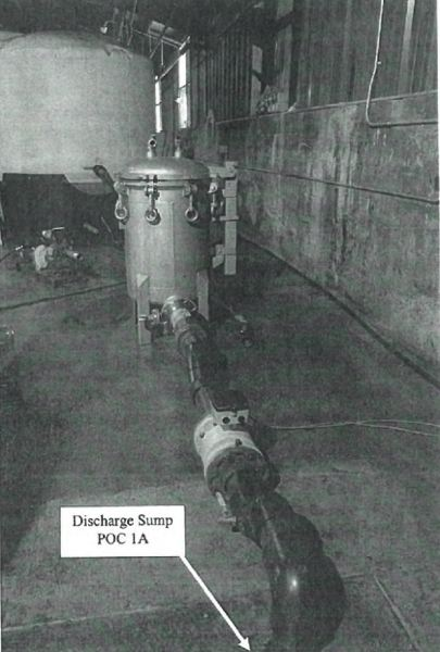 VIA BUREAU OF ENVIRONMENTAL SERVICES - A photo from a wastewater discharge industrial user permit issed to Oregon Oils by the city of Portland is reproduced here.