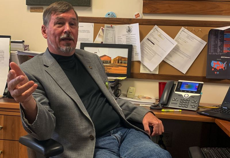 OREGON CAPITAL BUREAU: AUBREY WIEBER - State Sen. Brian Boquist's comments to 'send bachelors' and 'come heavily armed' to State Police prompted nationwide attention.