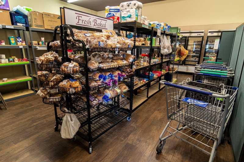 PMG PHOTO: CLARA HOWELL  - The food bank provides a shopping-style pantry for Wilsonville residents.