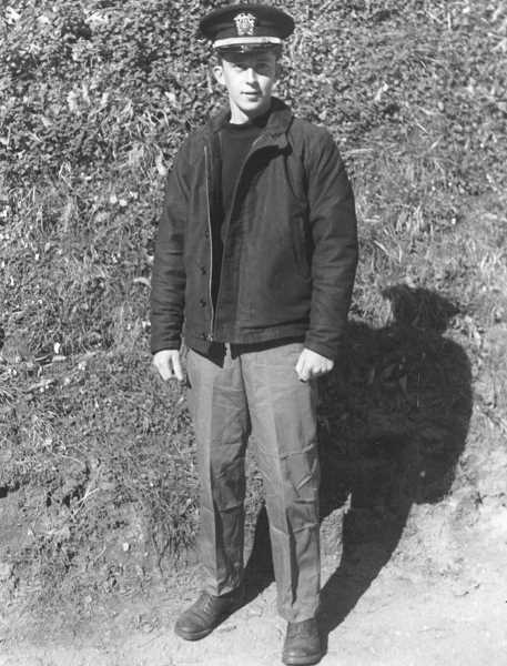 SUBMITTED PHOTO: JOHN O'MALLEY - A 22-year-old John O'Malley pictured here in England in April 1945.