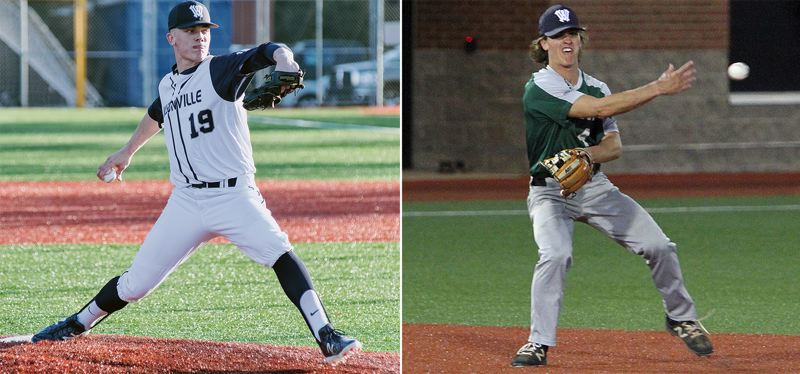 Wilsonville seniors Noln Thebiay (left) and Trevor Antonson both were named to the Class 5A all-state first team following their successful 2019 seasons.