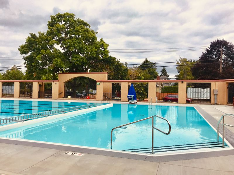 COURTESY PHOTO - North Portland's newly renovated Peninsula Pool has space for 108 more swimmers than the previous design.