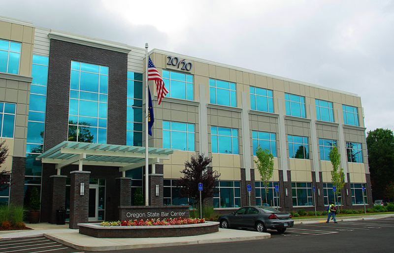 CONTRIBUTED - The Oregon State Bar Association headquarters in Tigard.