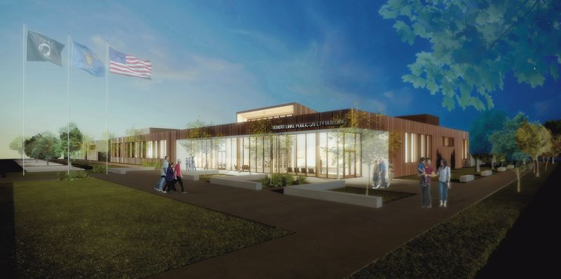 COURTESY: FFA ARCHITECTURE - Work is underway to turn the site of an elementary school in Oregon City into the Robert Libke Public Safety Center, expected to be completed in late 2020.