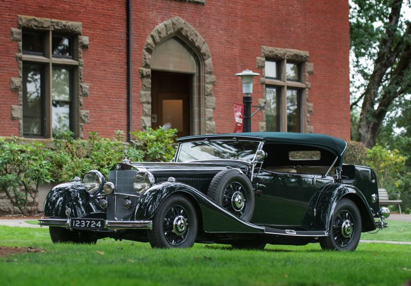 COURTESY PHOTO: JOHN M. VINCENT - This 1935 Mercedes-Benz 500K won the Best in Show award at the Forest Grove Concours d'Elegance in 2016.
