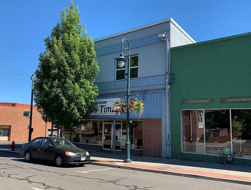 PMG PHOTO: GEOFF PURSINGER - The Forest GRove News-Times building, 2038 Pacific Ave., has been sold to new owners. The newspaper as well as the Hillsboro Tribune will move to new office space on Main St.
