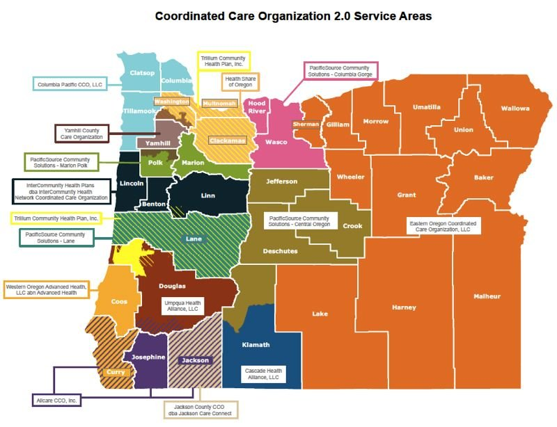 OREGON HEALTH AUTHORITY - The state's second round of Oregon Health Plan reforms since 2012 has selected 15 regional contractors. Contracts will be finalized in October.