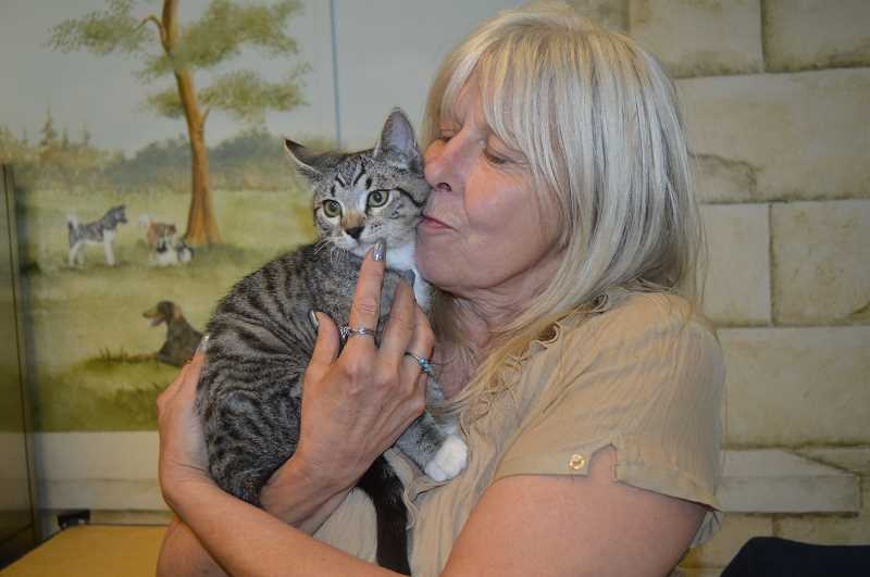 COURTESY PHOTO - Lucky McFoamy has found a new forever home with one of his first caretakers after staying at the Bonnie L. Hays Animal Shelter.