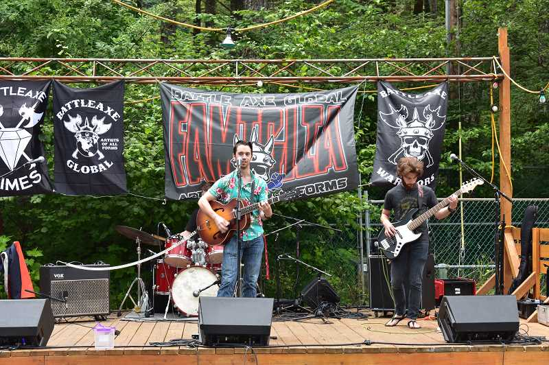 PMG PHOTO: EMILY LINDSTRAND - A variety of bands took the stage at Promontory Park during the third annual DJ Jonny Blaze River Fest on Saturday, July 6.