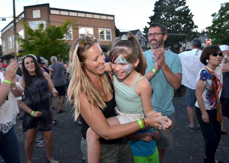 PMG FILE PHOTO - A true family-friendly event, the Street Dance is one of West Linn's oldest traditions.