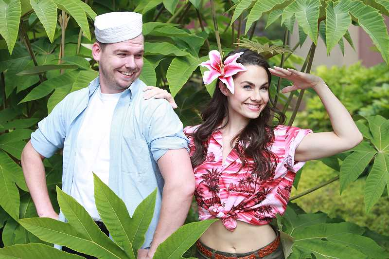 COURTESY PHOTO: CLACKAMAS REPERTORY THEATRE - Clackamas Repertory Theatre's production of 'South Pacific' happens at Osterman Theatre Aug. 1-24.