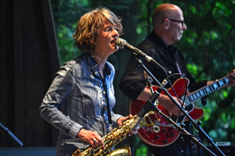 PMG FILE PHOTO: BRITTANY ALLEN - 1980s hitmakers Quarterflash is one of several bands to grace the Dale Nichols Main Stage in Sandy for the Summer Sounds series in its 24 years.