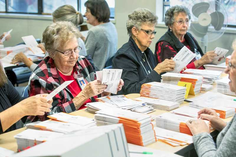 PMG FILE PHOTO - A bill to mandate paper ballots in federal elections nationwide passed the U.S. House on June 27 and is called the Securing America's Federal Elections Act (SAFE).