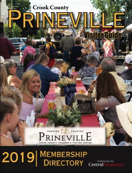 (Image is Clickable Link) Prineville Visitors Guide 2019