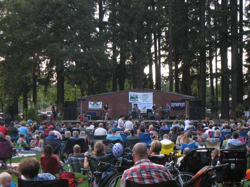 COURTESY PHOTO - Hillsboros 39-year-old outdoor concert series, Showtime at Shute, undergoes a name change and expands to reach AmberGlen Park this summer.