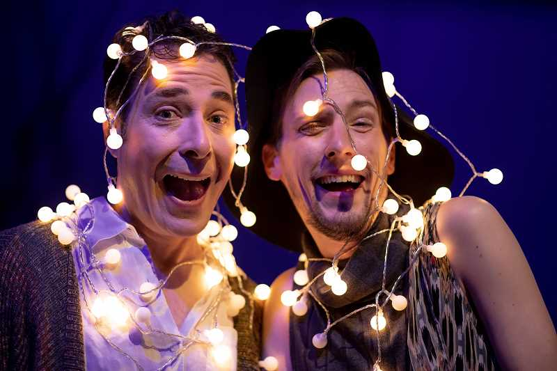 COURTESY PHOTO - Norman Wilson and Phillip J. Berns play Benedick and Bertram in 'Much Ado About Nothing' put on by Bag&Baggage Productions.