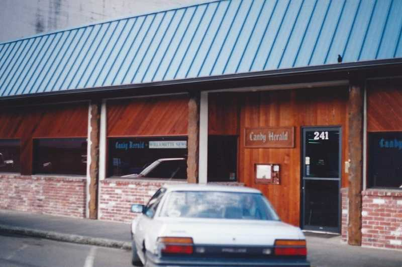 PMG FILE PHOTO: DEBORAH GUINTHER - The Canby Herald office is for sale. Pictured is the office in 1998 prior to the remodel.