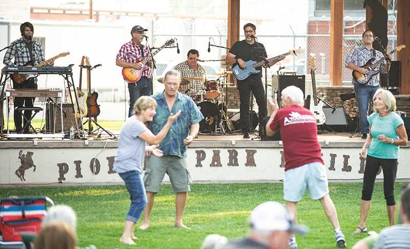 CENTRAL OREGONIAN - The Picnic in the Park concert series returns to Pioneer Park this Wednesday.