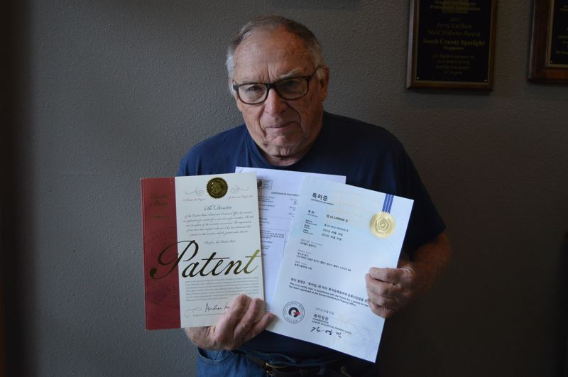 PMG PHOTO: NICOLE THILL-PACHECO - Steve Topaz, a St. Helens resident and medical device inventor and researcher, has been awarded three different patents for a propeller design that can be used in medical devices like emergency heart pumps, or on ships for fuel efficiency.
