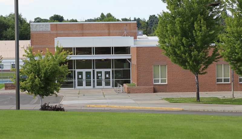 HOLLY M. GILL/MADRAS PIONEER - Before the end of the school year, a Madras High School bookkeeper was placed on administrative leave, following an internal investigation into potential thefts from student funds. A search warrant was executed at her former office on June 21.