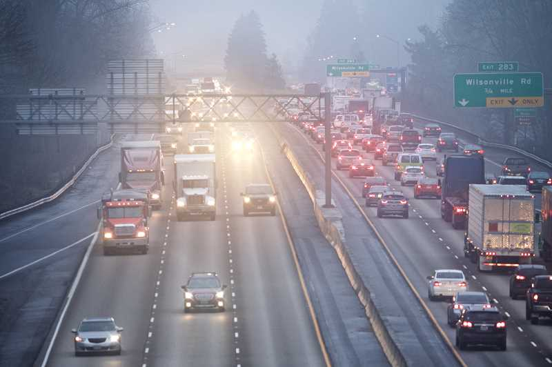 PMG FILE PHOTO - The City of Wilsonville's biggest legislative priority has been to get the Oregon State Legislature to add a southbound auxilary lane on I-5 near Wilsonville.