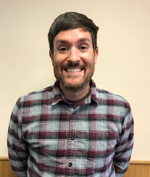 PMG PHOTO: MORGAN URTON - Derek Wiley is the new sports editor of the Canby Herald, Molalla Pioneer and Wilsonville Spokesman.