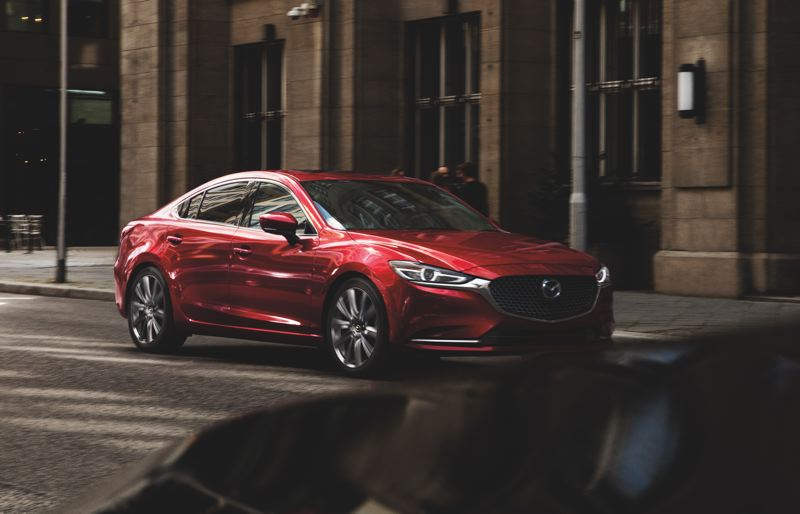 COURTESY MAZDA NORTH AMERICA - The 2019 Mazda6 is the best looking midsize sedan on the market at any price.