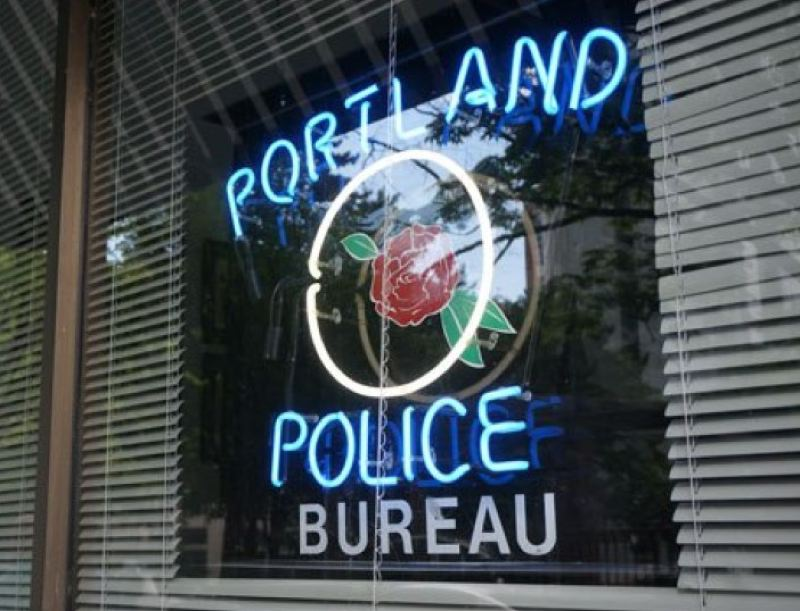 KOIN 6 NEWS - The Portland Police Bureau station in Old Town.
