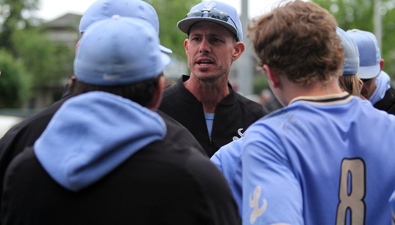 PMG PHOTO: MILES VANCE - Lakeridge baseball coach D.J. Whittemore recently announced his resignation after one season with the Pacers; he'll move on to serve as pitching coach at Cal State Bakersfield.